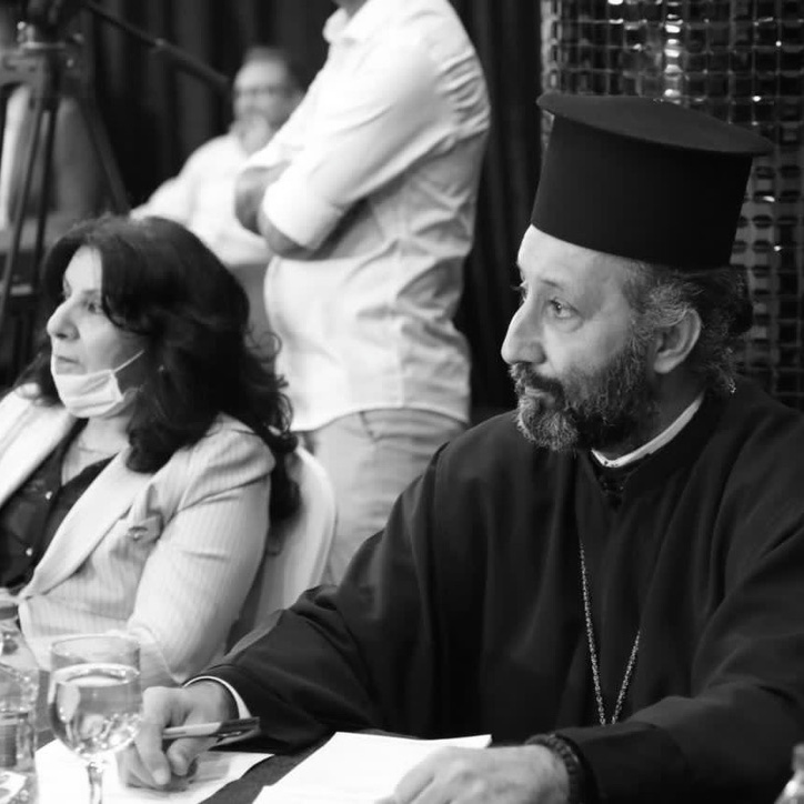 A workshop with representatives of Iraq's Christian communities.