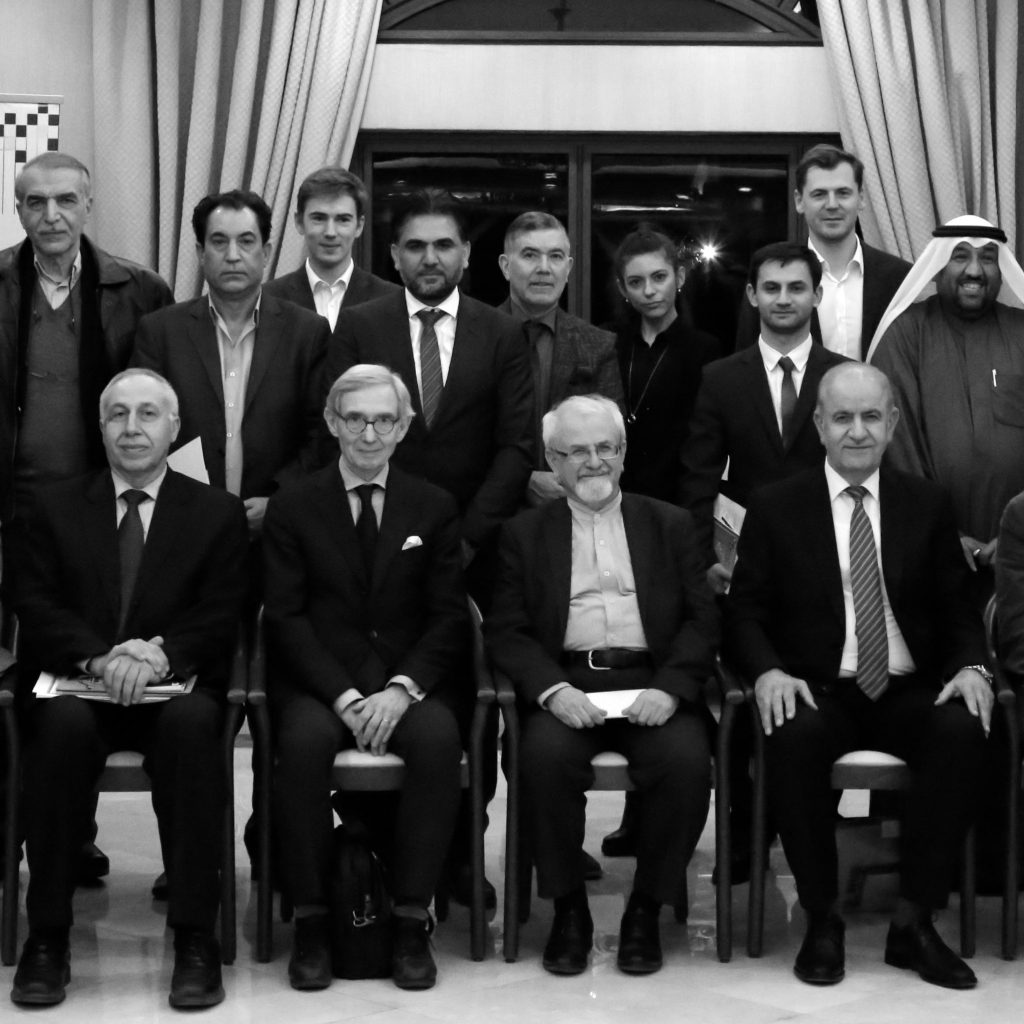 With several founding members of the Baghdad Policy Club